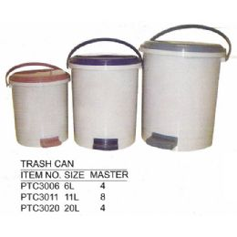 8 Units of 20 L Trash Can - Waste Basket