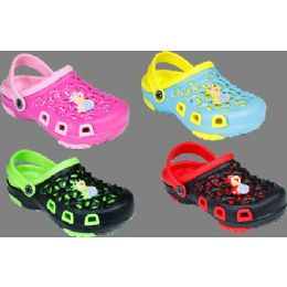 60 Units of Girls Summer Clogs Assorted Colors - Girls Slippers