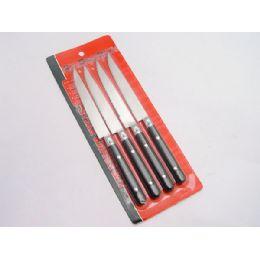 60 Units of 4 PIECE STEAK KNIFE SET - Kitchen Knives