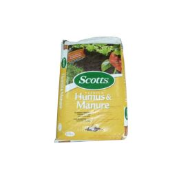 12 Units of Scotts Humus & Manure .75cf - Garden Planters and Pots