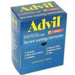 100 Units of Advil 2 Tablet - Pain and Allergy Relief