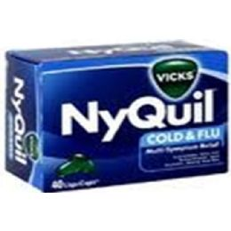 3 Units of Nyquil Cold & Flu - Pain and Allergy Relief
