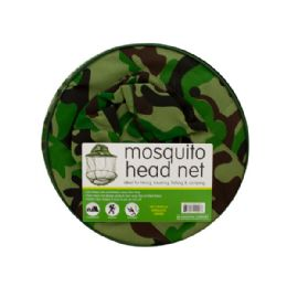 15 Units of Mosquito Head Net Hat - Camping Gear