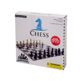 30 Units of Folding Chess Game - Dominoes & Chess