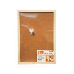 12 Units of Cork Bulletin Board - Dry Erase