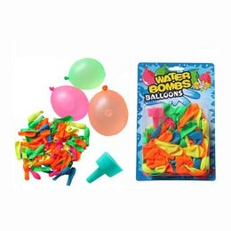 60 Units of Water Balloon With Funnel 24pcs - Water Balloons