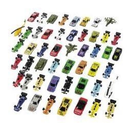 100 Units of Die Cast Toy Mega Assortment