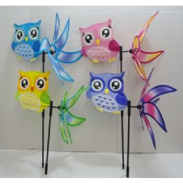 "36 Units of 16"" 3D Wind Spinner [Owl] - Wind Spinners"