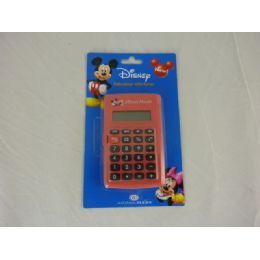 144 Units of Calculator Electronic Mickey - Calculators