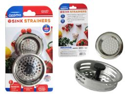 72 Units of D Sink Strainers And Stopper 3 Piece - Strainers & Funnels