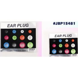 96 Units of Bodyjewelry Ear Plug - Body Jewelry