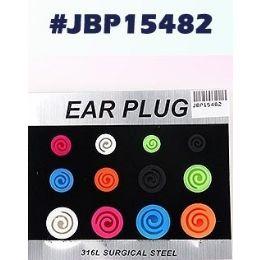 72 Units of Bodyjewelry Ear Plug - Body Jewelry