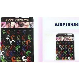 36 Units of Bodyjewelry/ Body Piercing Plastic - Body Jewelry