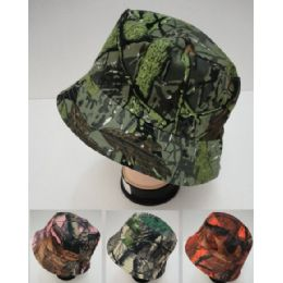 24 Units of Bucket Hat [Assorted Camo] - Bucket Hats