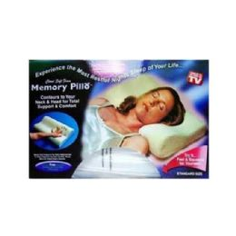 12 Units of Memory Foam Pillow - Pillows