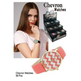 36 Units of CHEVRON WATCHES - Kids Watches