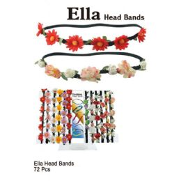 72 Units of ELLA HEAD BANDS - Headbands