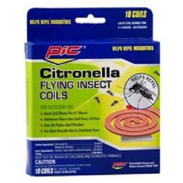 48 Units of 4pk Citronella Coils - Pest Control