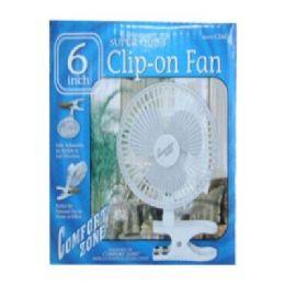 """36 Units of 6"""" Clip -On Fan - Electric Fans"""