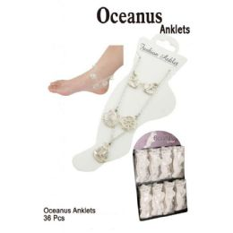 36 Units of Oceanus Anklets - Ankle Bracelets