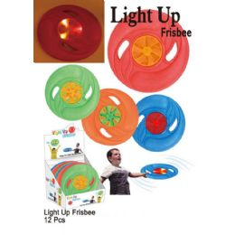 24 Units of Light Up Frisbee - Light Up Toys