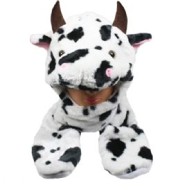 24 Units of Animal Cow Hat 026 - Costumes & Accessories
