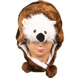 36 Units of Animal Raccoon Hat 039 - Costumes & Accessories