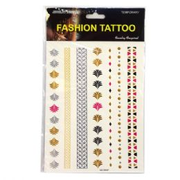 120 Units of Fashion Tattoo - Tattoos and Stickers