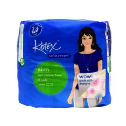 96 Units of Kotex Smooth Wings 8pk - Personal Care Items