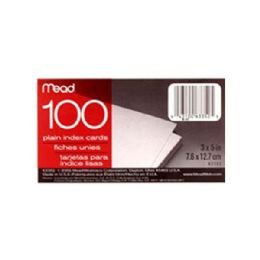 """72 Units of 3x5"""" 100ct Ruled Index Cards - Labels ,Cards and Index Cards"""