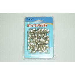 144 Units of 100pc Metal Push Pins - Push Pins and Tacks