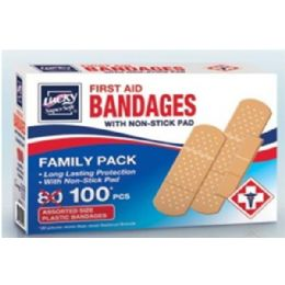 144 Units of First Aid Bandages - First Aid and Bandages