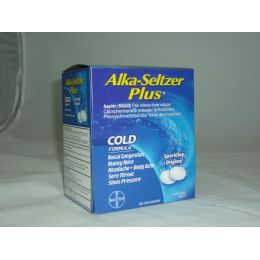 3 Units of Alka Seltzer Plus - Pain and Allergy Relief