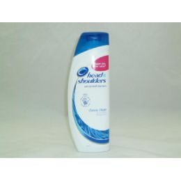 24 Units of Head & Shoulders 500ml - Classic Clean - Shampoo & Conditioner