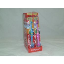 "120 Units of ""Colgate"" Kids Toothbrush - Toothbrushes and Toothpaste"