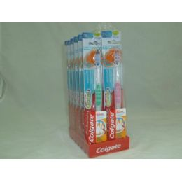 "72 Units of ""Colgate"" Toothbrush Total - Toothbrushes and Toothpaste"