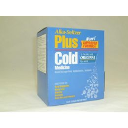 20 Units of Alka Seltzer Plus Cold - Pain and Allergy Relief