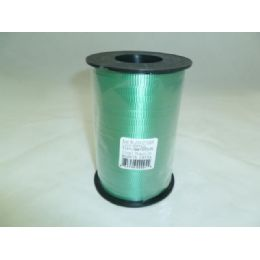 96 Units of 5mm X 500 Yards Of Green Ribbon - Bows & Ribbons