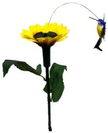 12 Units of Garden Solar & Battery Yard Stake [Hummingbird] - Garden Decor