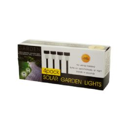 12 Units of Solar Powered Garden Lights - Lamps and Lanterns