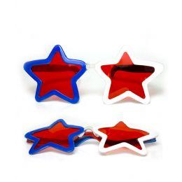 180 Units of Jumbo Star Shades - Patriotic - Costumes & Accessories