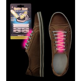 288 Units of Glow Shoe Laces - Pink - LED Party Supplies