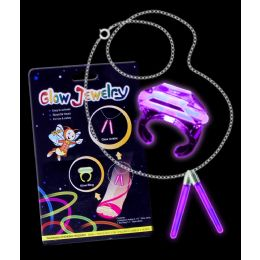 288 Units of Glow Ring And Anklet Set - Purple - LED Party Supplies