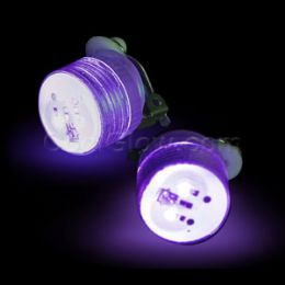 1000 Units of LED Clip On Blinky Light - Purple