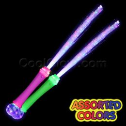 96 units of led strobing fiber optic wand at for Led wands wholesale