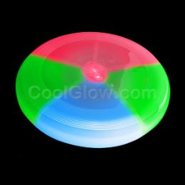100 Units of LED Frisbee 8 Inch - Multicolor