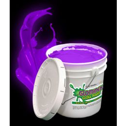 Glominex Glow Paint Gallon - Purple - LED Party Items