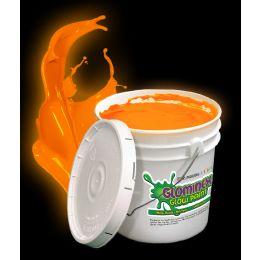 Glominex Glow Paint Gallon - Orange - LED Party Items