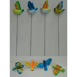 60 Units of Yard Stake with Moving Wings [Birds] - Wind Spinners