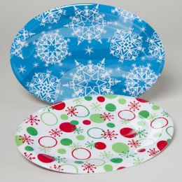 36 Units of Christmas Serving Platters - Serving Trays